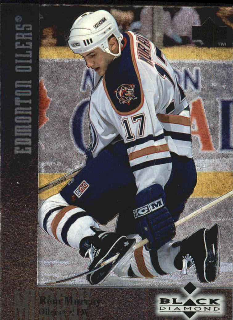 1996-97 Black Diamond #17 Rem Murray RC