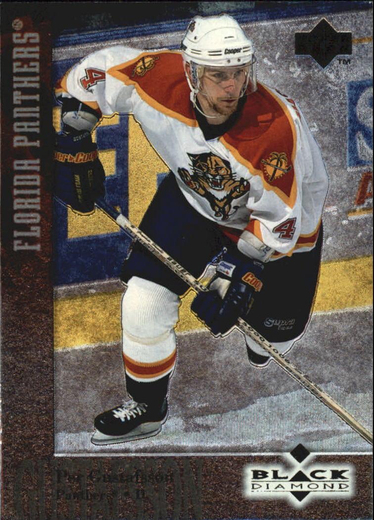 1996-97 Black Diamond #40 Per Gustafsson RC
