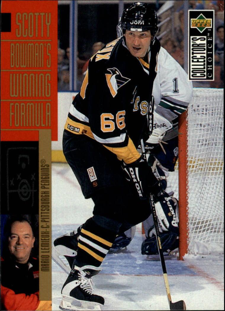 1996-97 Collector's Choice #293 Mario Lemieux SB