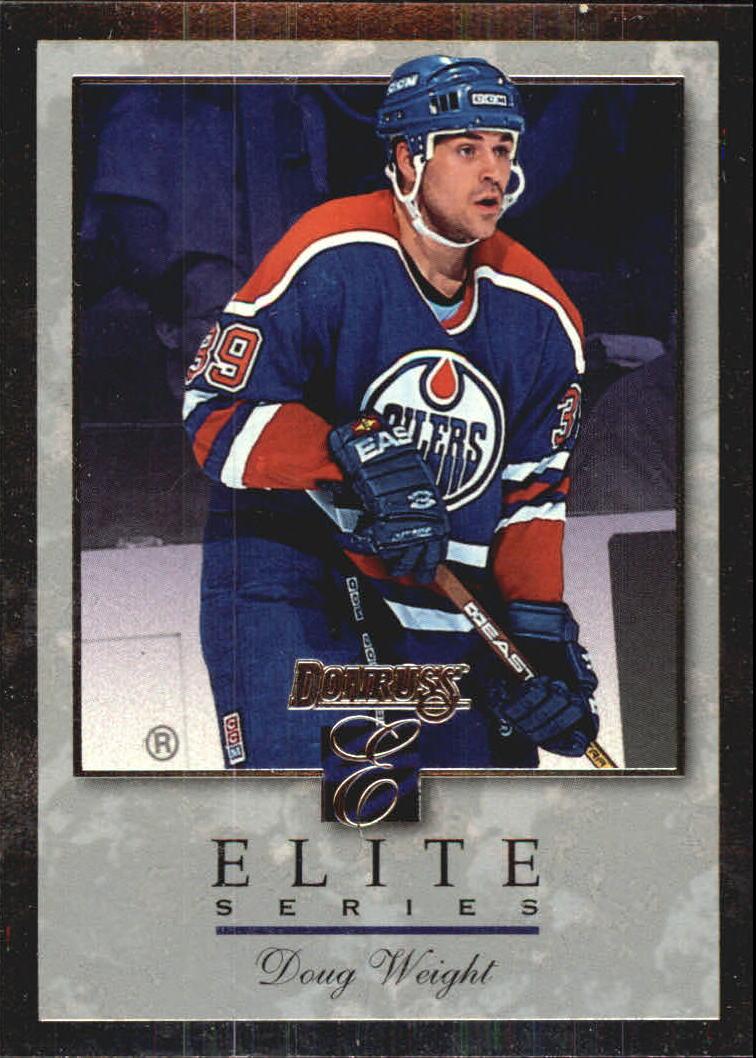 1996-97 Donruss Elite Inserts #3 Doug Weight