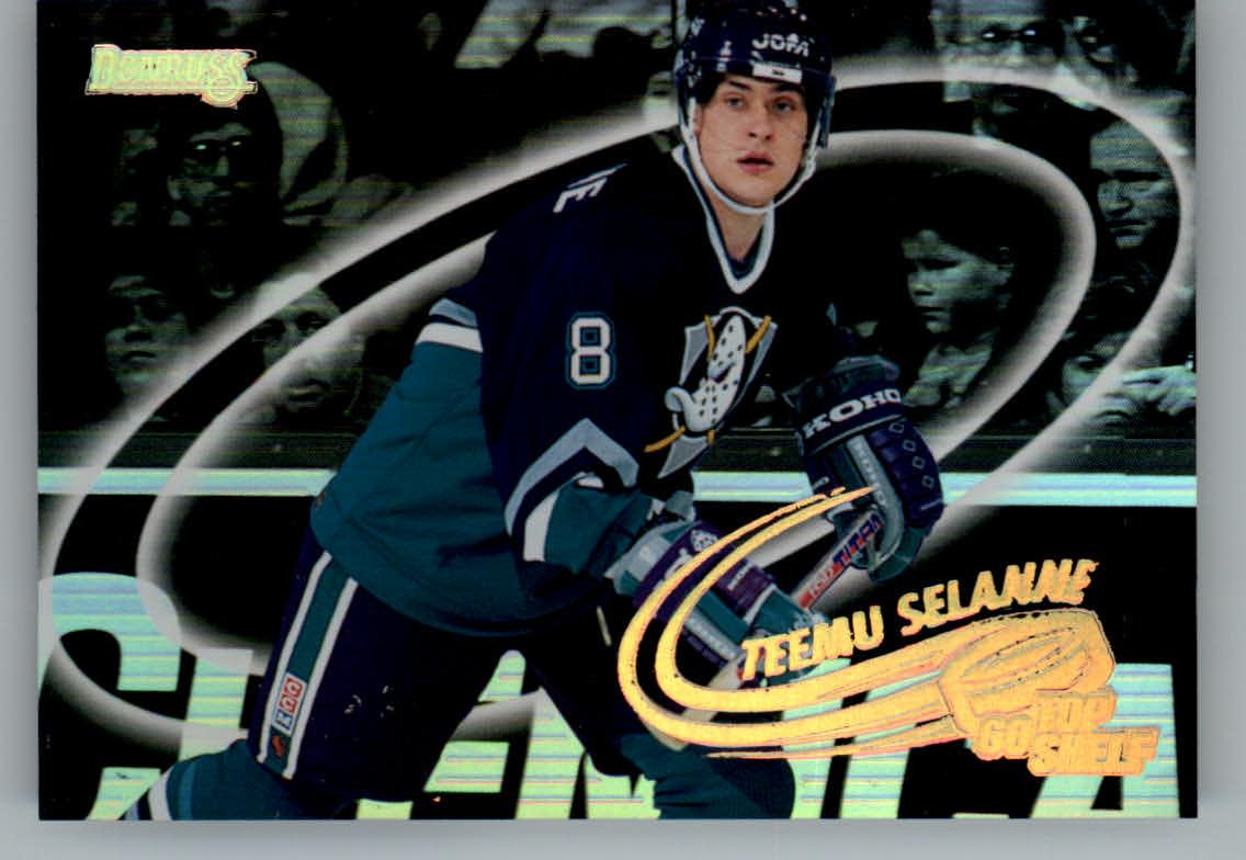 1996-97 Donruss Go Top Shelf #2 Teemu Selanne