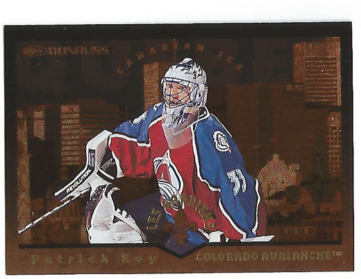 1996-97 Donruss Canadian Ice Les Gardiens #1 Patrick Roy