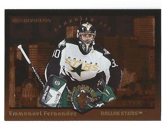 1996-97 Donruss Canadian Ice Les Gardiens #8 Emmanuel Fernandez