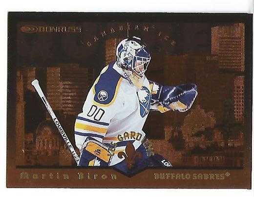 1996-97 Donruss Canadian Ice Les Gardiens #9 Martin Biron