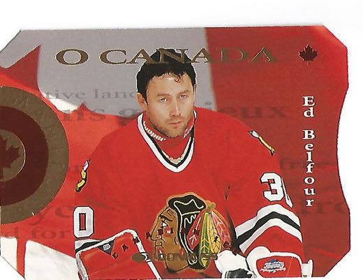 1996-97 Donruss Canadian Ice O Canada #6 Ed Belfour