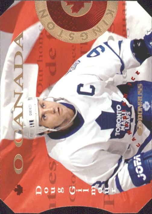 1996-97 Donruss Canadian Ice O Canada #9 Doug Gilmour