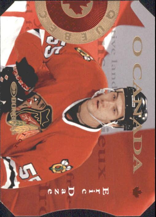 1996-97 Donruss Canadian Ice O Canada #14 Eric Daze