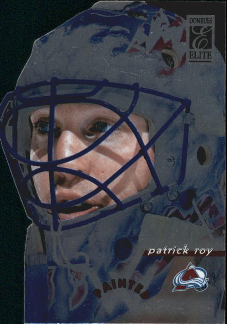 1996-97 Donruss Elite Painted Warriors #1 Patrick Roy