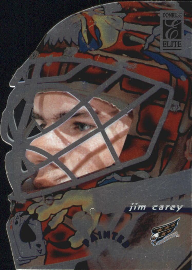 1996-97 Donruss Elite Painted Warriors #3 Jim Carey
