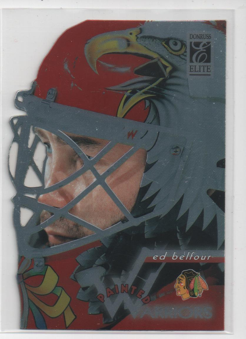 1996-97 Donruss Elite Painted Warriors #7 Ed Belfour