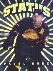 1996-97 Donruss Elite Status #1 Pavel Bure