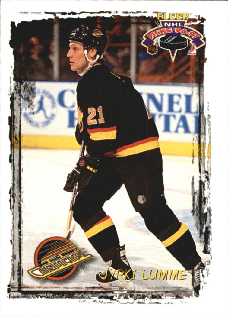 1996-97 Fleer Picks #94 Jyrki Lumme