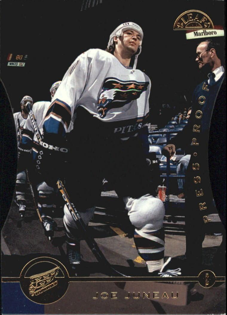 1996-97 Leaf Press Proofs #21 Joe Juneau