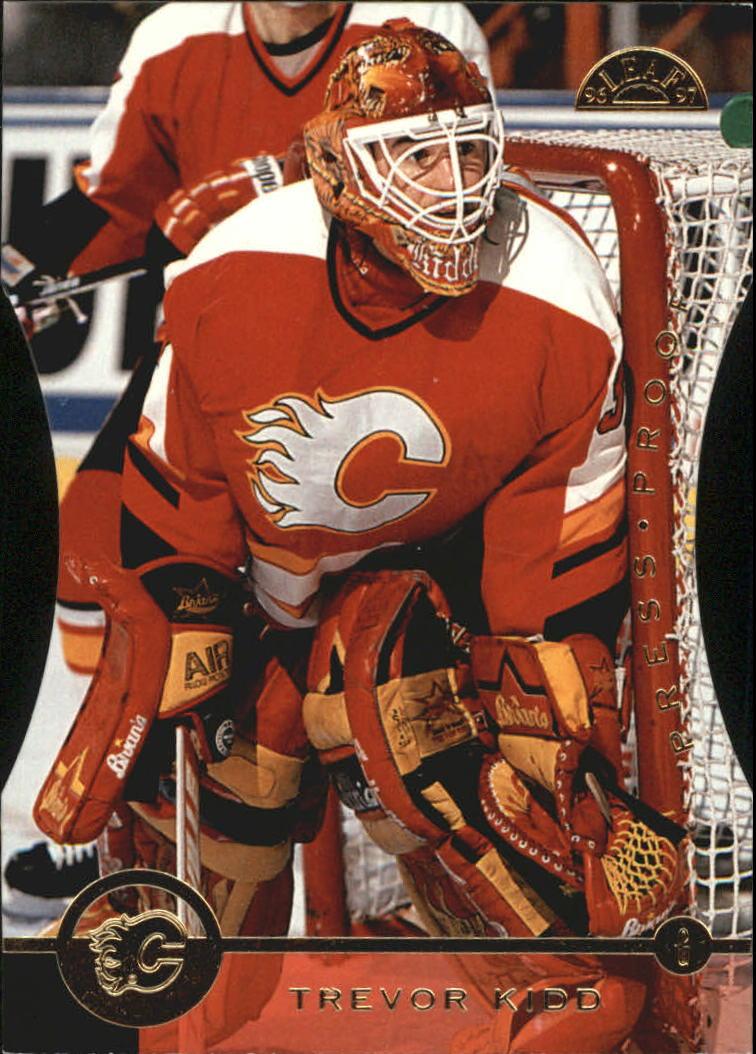 1996-97 Leaf Press Proofs #67 Trevor Kidd