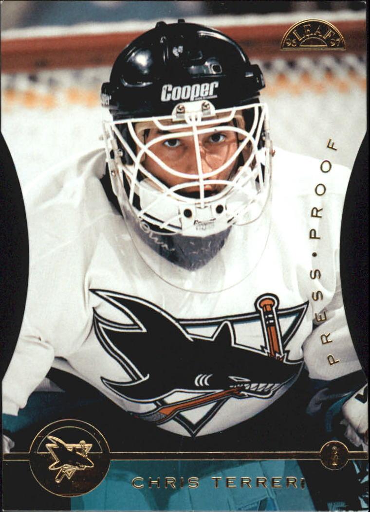 1996-97 Leaf Press Proofs #94 Chris Terreri