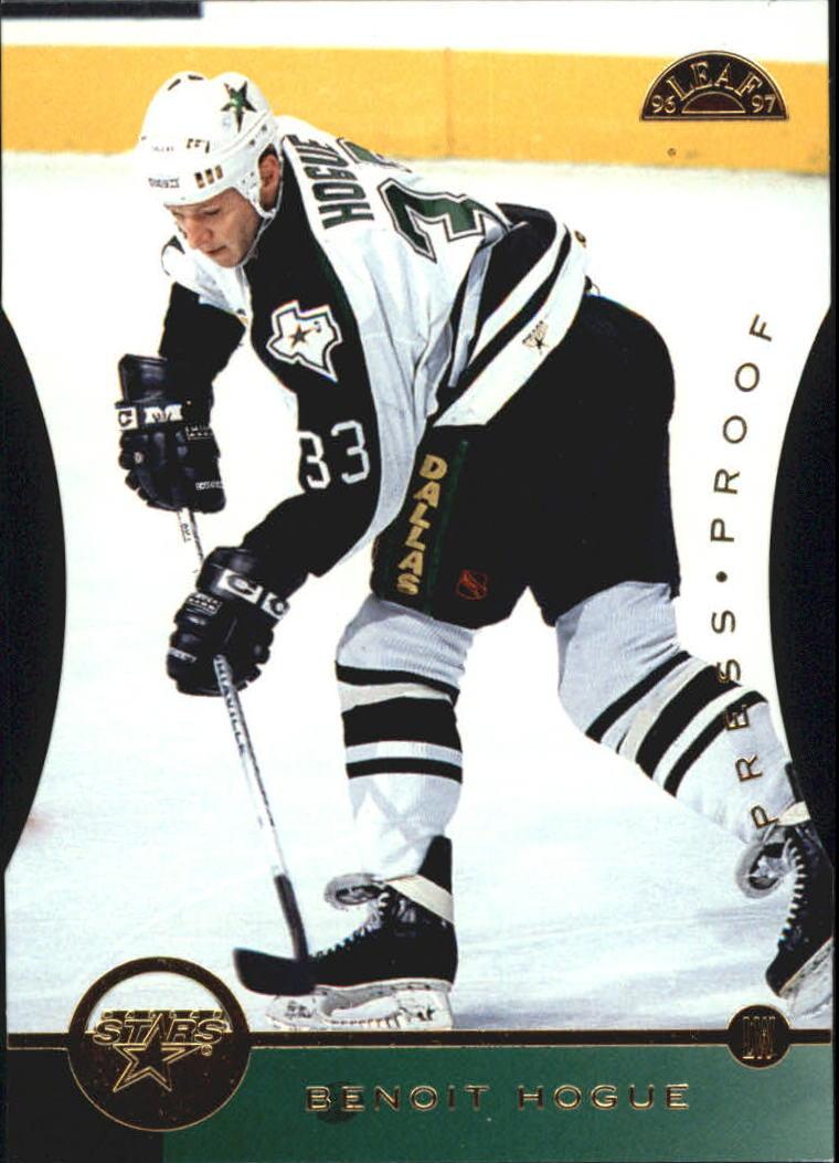 1996-97 Leaf Press Proofs #137 Benoit Hogue
