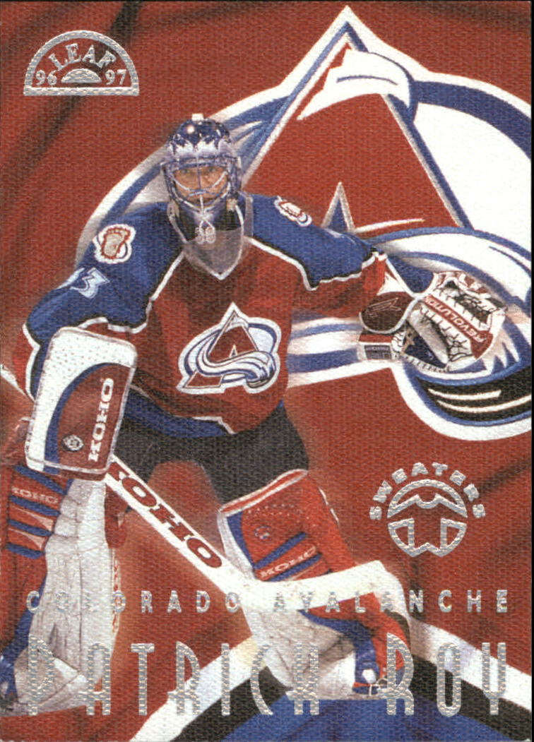 1996-97 Leaf Sweaters Away #2 Patrick Roy