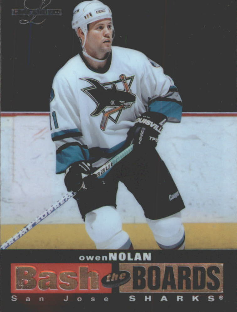 1996-97 Leaf Limited Bash The Boards #3 Owen Nolan