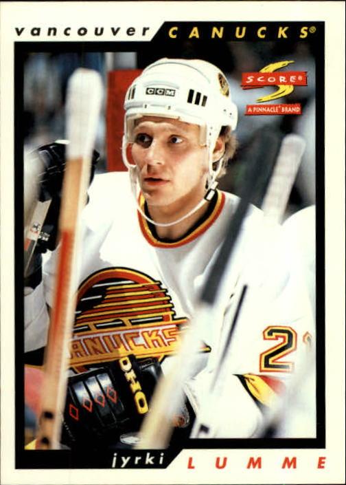 1996-97 Score #22 Jyrki Lumme