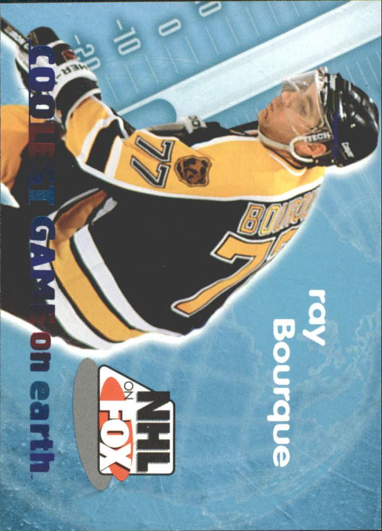 1996-97 SkyBox Impact NHL on Fox #3 Ray Bourque