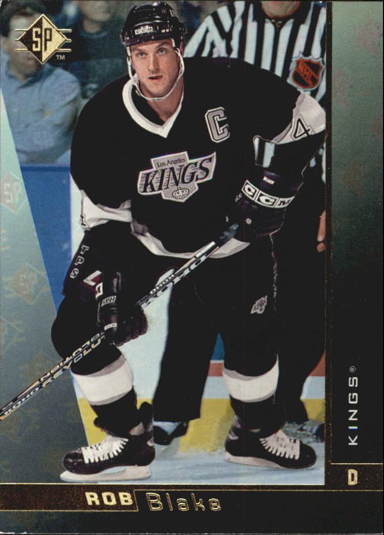 1996-97 SP #74 Rob Blake