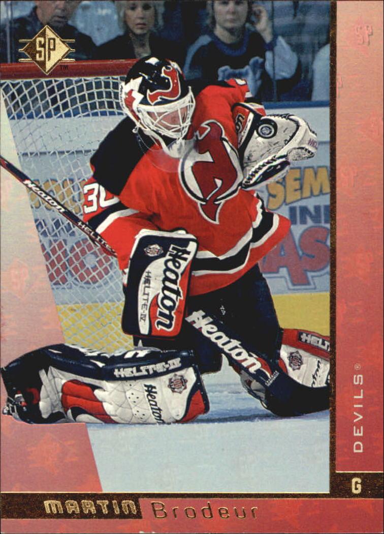1996-97 SP #86 Martin Brodeur