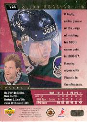 1996-97 SP #124 Cliff Ronning back image