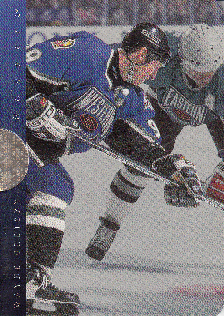 1996-97 SP Inside Info #IN1 Wayne Gretzky back image