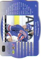 1996-97 SPx #27 Mark Messier back image