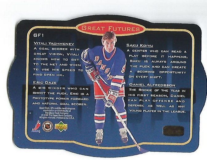 Details about 1996-97 SPx Kings Hockey Card #GF1 Great Futures