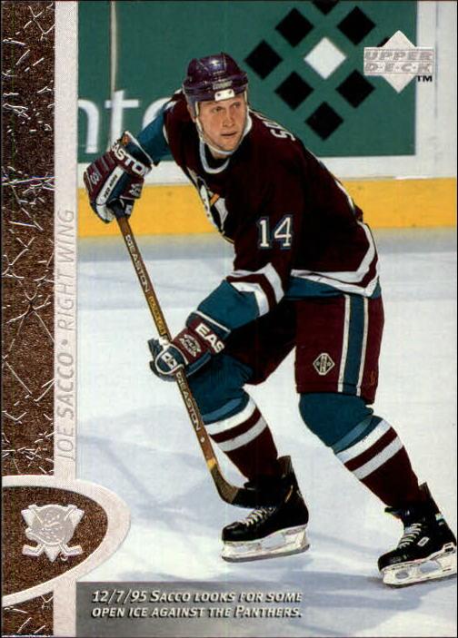 1996-97 Upper Deck #4 Joe Sacco