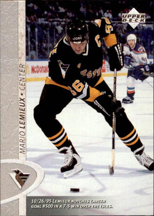 1996-97 Upper Deck #321 Mario Lemieux
