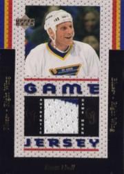 1996-97 Upper Deck Game Jerseys #GJ2 Brett Hull