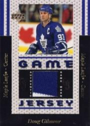 1996-97 Upper Deck Game Jerseys #GJ3 Doug Gilmour