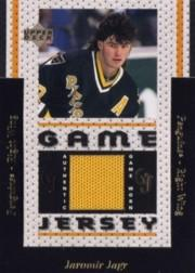1996-97 Upper Deck Game Jerseys #GJ4 Jaromir Jagr