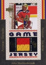 1996-97 Upper Deck Game Jerseys #GJ7 John Vanbiesbrouck