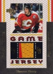 1996-97 Upper Deck Game Jerseys #GJ12 Theo Fleury