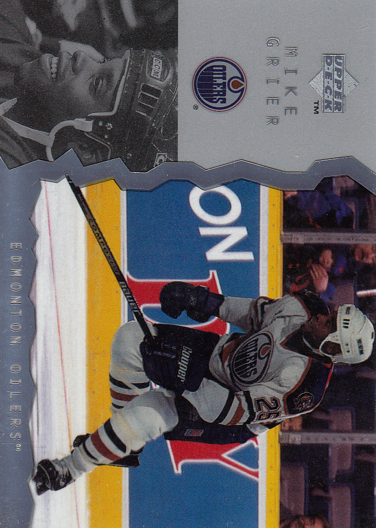 1996-97 Upper Deck Ice #86 Mike Grier RC