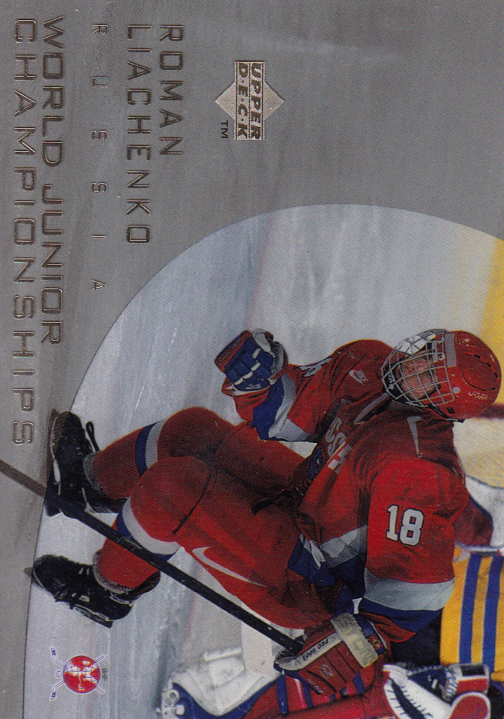 1996-97 Upper Deck Ice #144 Roman Liachenko RC