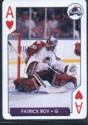 1996-97 NHL Aces Playing Cards #41 Patrick Roy