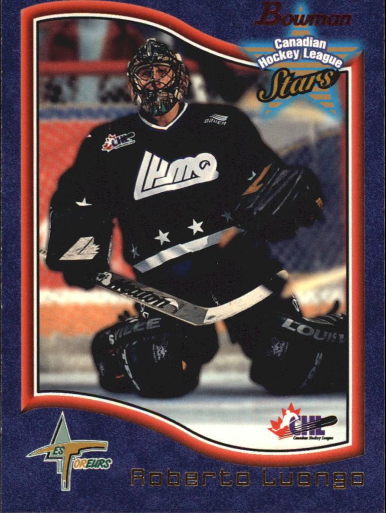 1997 Bowman CHL #42 Roberto Luongo