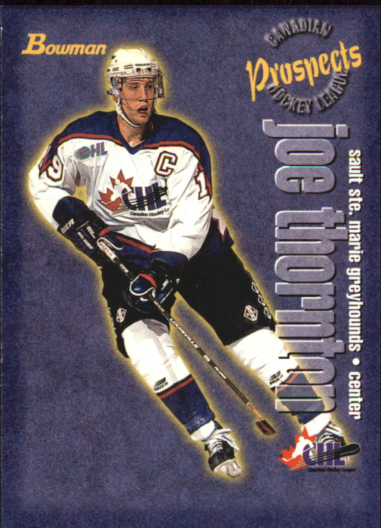 1997 Bowman CHL #125 Joe Thornton TP