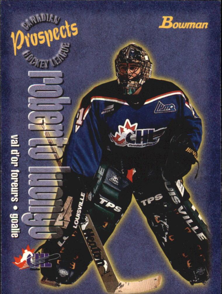 1997 Bowman CHL #159 Roberto Luongo TP