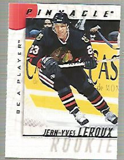1997-98 Be A Player #45 Jean-Yves Leroux RC