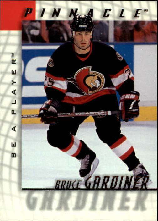 1997-98 Be A Player #51 Bruce Gardiner RC