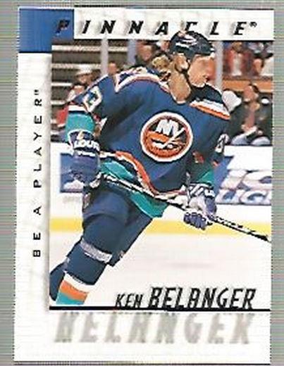 1997-98 Be A Player #145 Ken Belanger RC