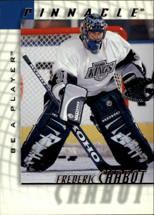 1997-98 Be A Player #169 Frederic Chabot RC