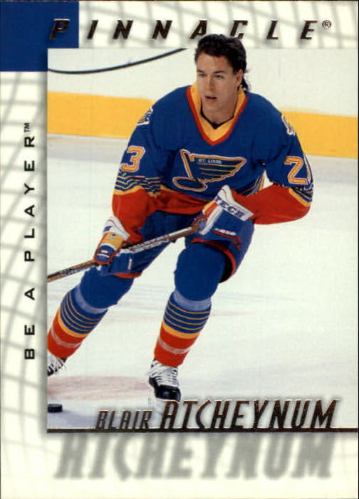 1997-98 Be A Player #210 Blair Atcheynum RC