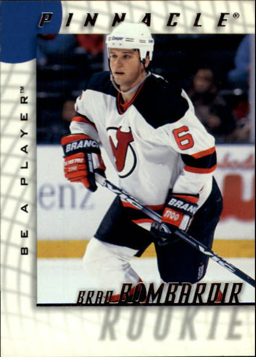 1997-98 Be A Player #214 Brad Bombardir RC