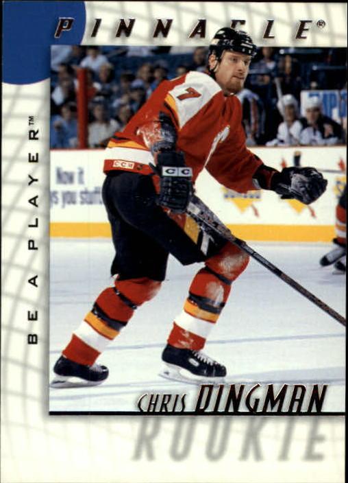 1997-98 Be A Player #216 Chris Dingman RC